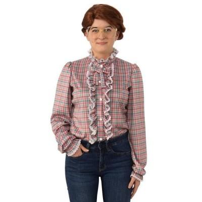 バイシーズンズ シャツ トップス レディース Women's Stranger Things Barb Adult Shirt Red
