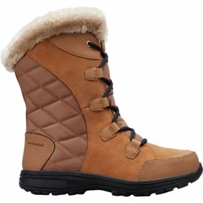 コロンビア レディース ブーツ・レインブーツ シューズ Ice Maiden II Lace Boot Elk/Black