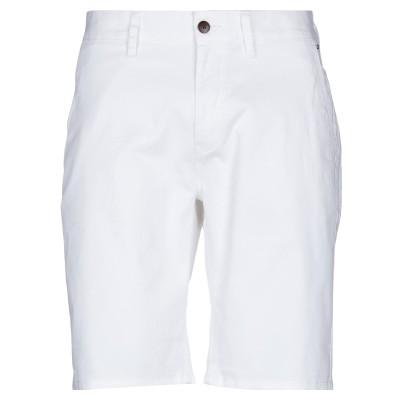 TOMMY JEANS バミューダパンツ ホワイト 31 コットン 98% / ポリウレタン 2% バミューダパンツ