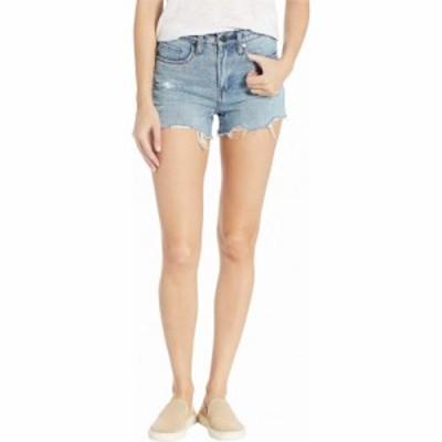 ブランクニューヨーク Blank NYC レディース ショートパンツ ボトムス・パンツ The Barrow High-Rise Distressed Shorts in Top Notch To