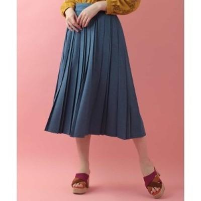 ホコモモラ(JOCOMOMOLA)/ベルトデザインプリーツスカート