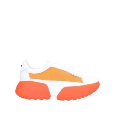 RUCOLINE スニーカー  レディースファッション  レディースシューズ  スニーカー オレンジ