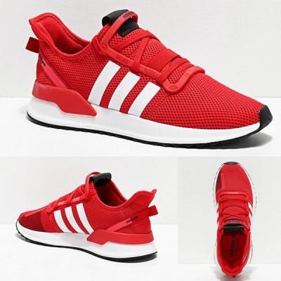 Adidas/アディダス adidas スニーカー メンズ レッド ホワイト U Path Run Scarlet & White Shoes