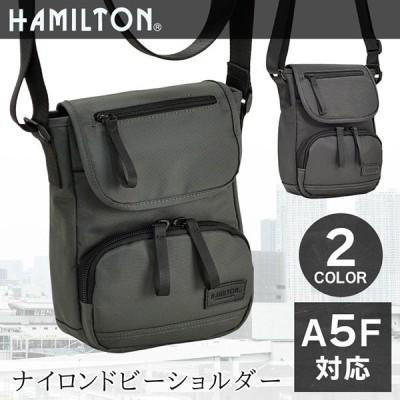 ショルダーバッグ メンズ 斜め掛け 縦型 おしゃれ カジュアルバッグ タブレット収納 旅行 男性 A5 HAMILTON 33720