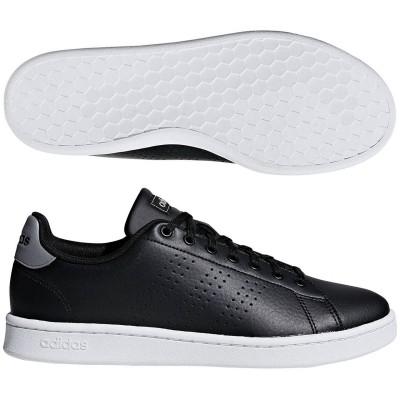 アディダス (adidas) ADVANCOURT LEA U(コアブラック×コアブラック×グレースリー) F36431 [分類:メンズファッション スニーカー ローカット] 送料無料