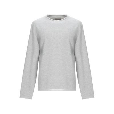 RVLT/REVOLUTION スウェットシャツ ライトグレー M コットン 93% / ポリエステル 7% スウェットシャツ