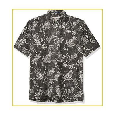 Reyn Spooner Men's M502912620, Aloha Welcome - Black Onyx, XL並行輸入品