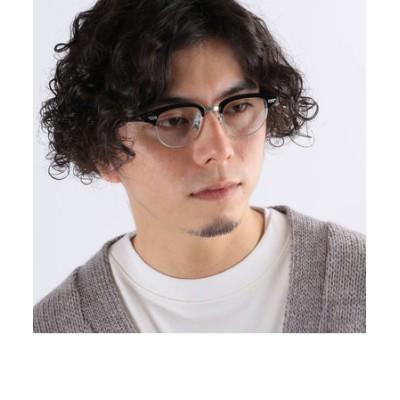 《予約》【SHIPS any別注】銘品晴夫作:MALCOLM 眼鏡◆