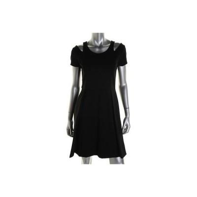 ドレス 女性  インク INC 5033 レディース ブラック Ponte Cut-Out Party Cocktail ドレス M