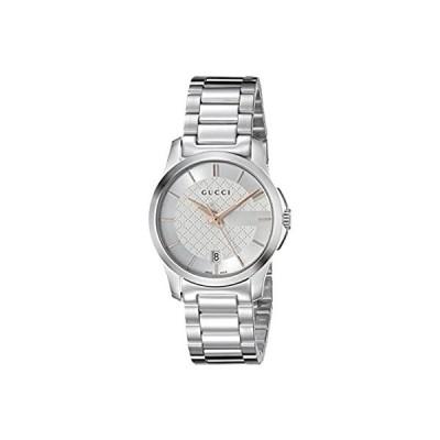 特別価格Gucci G-Timeless Stainless Steel Bracelet Unisex Watch(Model:YA126523u)好評販売中