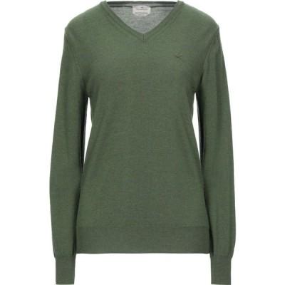 ブルックスフィールド BROOKSFIELD メンズ ニット・セーター トップス sweater Military green