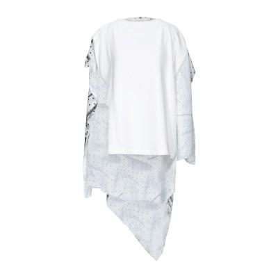 MM6 メゾン マルジェラ MM6 MAISON MARGIELA スウェットシャツ ホワイト S コットン 65% / ポリエステル 35% スウ