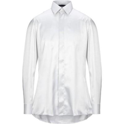 ウンガロ UNGARO メンズ シャツ トップス solid color shirt Light grey