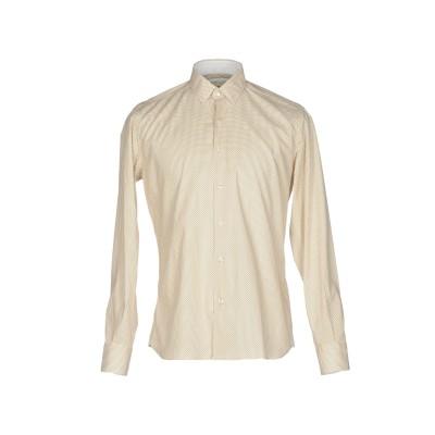 DOMENICO TAGLIENTE シャツ ベージュ 42 コットン 97% / ポリウレタン 3% シャツ