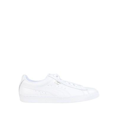 プーマ PUMA スニーカー&テニスシューズ(ローカット) ホワイト 10.5 革 スニーカー&テニスシューズ(ローカット)