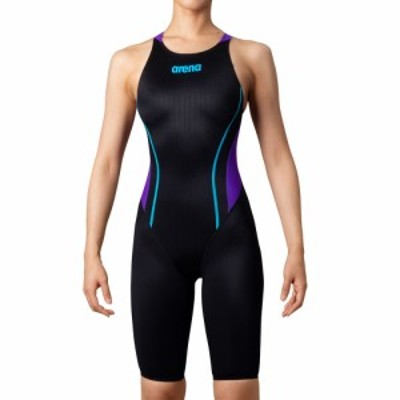 【メール便OK】2020SS ARENA(アリーナ) ARN-0030WJ ジュニア ガールズ ハーフスパッツ クロスバック競泳水着 水泳 FINA承認 女の
