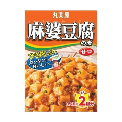 【ya】 丸美屋 麻婆豆腐の素 甘口 162g