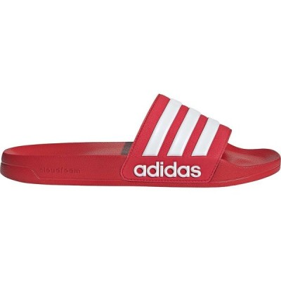 アディダス adidas メンズ サンダル シューズ・靴 Adilette Shower Slides Scarlet/White