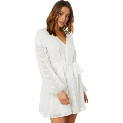ミンクピンク Minkpink レディース パーティードレス ミニ丈 ワンピース・ドレス ashlyn drop waist mini dress White