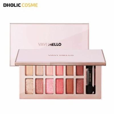 【DHOLICFBL】 VAVI MELLO バビメロ バレンタインボックス3  ローズモーメント 12色アイシャドウパレット 9.9g