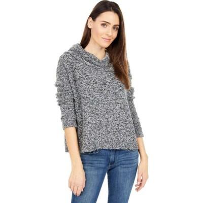 サンクチュアリ Sanctuary レディース ニット・セーター トップス Boucle Cowl Neck Sweater Charcoal Black