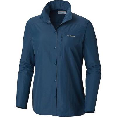 コロンビア Columbia レディース ハイキング・登山 シャツ トップス Featherweight Hike II LS Shirt Petrol Blue