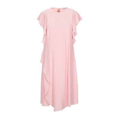 I BLUES ミニワンピース&ドレス ピンク 44 レーヨン 100% ミニワンピース&ドレス