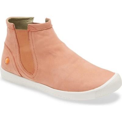 フライロンドン SOFTINOS BY FLY LONDON レディース スニーカー シューズ・靴 Ici Sneaker Warm Pink Cupido Leather