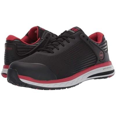 ティンバーランド Drivetrain Composite Safety Toe メンズ スニーカー 靴 シューズ Black/Red