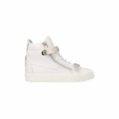 GIUSEPPE ZANOTTI/ジュゼッペ ザノッティ White May London sneakers メンズ 秋冬2019 RU90053001001 ju