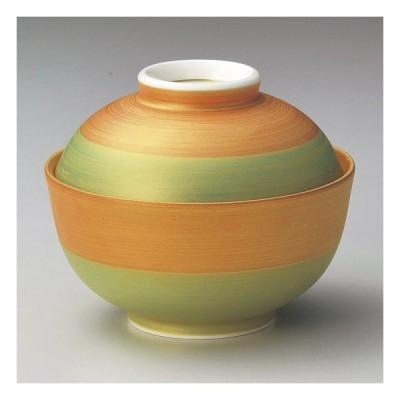 あけぼの煮物碗 和食器 蓋向・円菓子碗 業務用 約11.4cm 和食 和風 蒸し物 煮魚