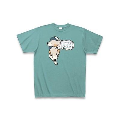 ジンジャーさんとニコさん Tシャツ Pure Color Print(ミント)