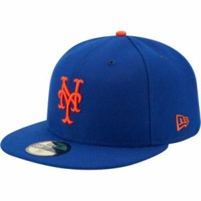 ニューエラ キャップ New York Mets 59Fifty Game Royal Authentic Hat