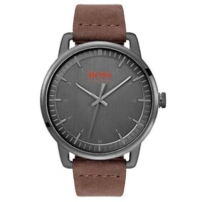 HUGO BOSS ヒューゴボス Orange Stockholm オレンジ ストックホルム 1550074 グレー×ブラウン 腕時計 メンズ