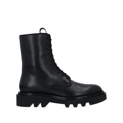 ジバンシィ GIVENCHY ショートブーツ ブラック 39 牛革(カーフ) ショートブーツ