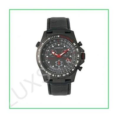 Morphic Men's MPH3605 M36 Series Chronograph Black Leather Watch 並行輸入品