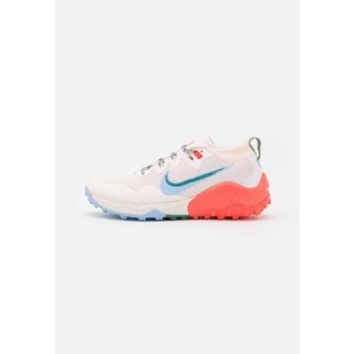 ナイキ レディース スポーツ用品 WILDHORSE 7 - Trail running shoes - light soft pink/aluminum/magic ember/bicoastal/oil green/phantom