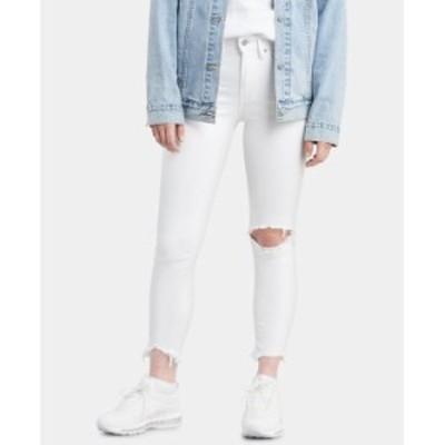 リーバイス レディース デニムパンツ ボトムス Women's 721 Ankle High-Rise Skinny Jeans Iced Out