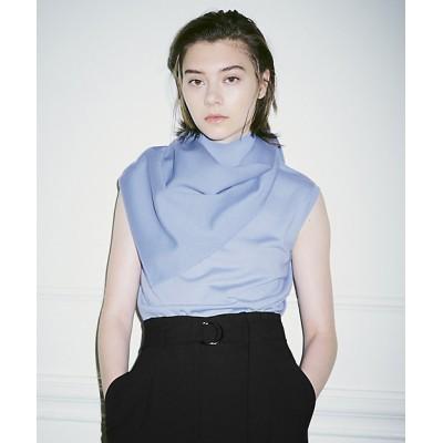<ICB(Women)/アイシービー>【マガジン掲載】Compact Wool ニット(番号CG25)(KRCYBW0311) サックス【三越伊勢丹/公式】