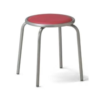 【法人限定】 丸椅子 スツール スタッキングチェア ミーティングチェア 椅子 丸イス オフィスチェア 会議用チェア ブルー グリーン ローズ ブラック RC-60