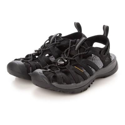 KEEN/キーン WHISPER ウィスパー  スポーツサンダル 1018227 ブラック
