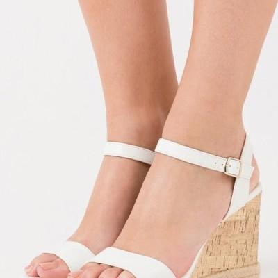ニュールック レディース 靴 シューズ PERTH - High heeled sandals - white