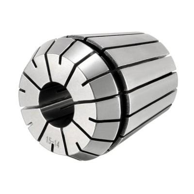 uxcell スプリングコレットチャック ER40-15mm CNC彫刻機 旋盤 フライス盤 40Cr スチール
