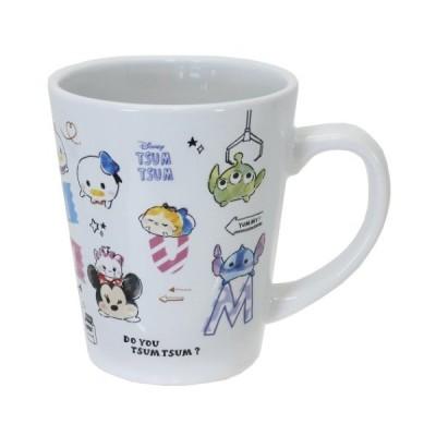 マグカップ 磁器製 MUG ディズニーツムツム アルファベット ディズニー クラックス プレゼント