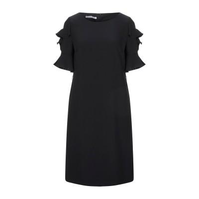 CARACTÈRE ミニワンピース&ドレス ブラック 40 ポリエステル 100% ミニワンピース&ドレス