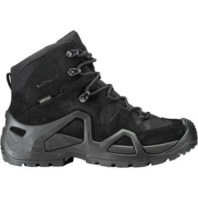 ロア シューズ レディース ハイキング Zephyr GTX Mid TF Hiking Boot - Women's Black/Black