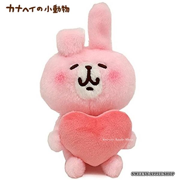 日本限定 卡娜赫拉 兔兔 愛心 絨毛玩偶娃娃