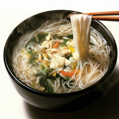 手延べそうめんのにゅうめん 鳥菜にゅう麺  8食