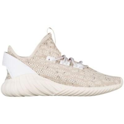 アディダス メンズ adidas Originals Tubular Doom Sock Primeknit スニーカー ランニングシューズ Clear Brown/Chalk White/White
