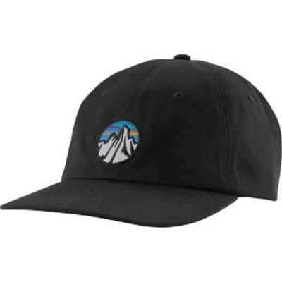 パタゴニア メンズ 帽子 アクセサリー Patagonia Fitz Roy Scope Icon Traditional Cap Black